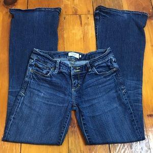 3/$27 Abercrombie Medium Wash Bootcut Jeans